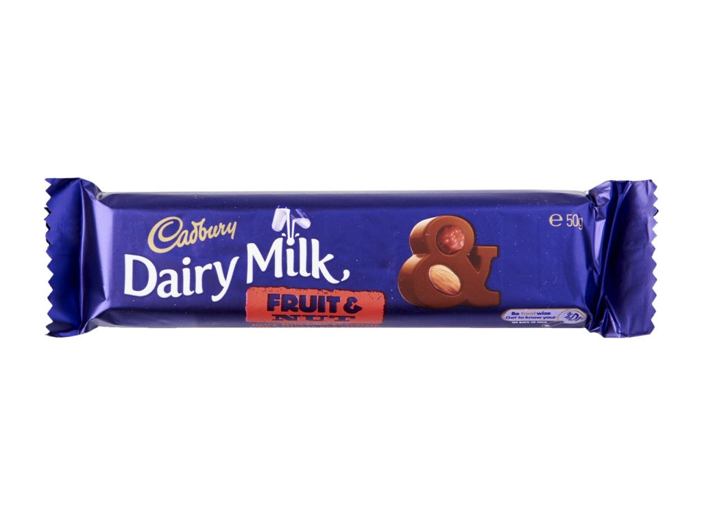 cadbury fruit nut