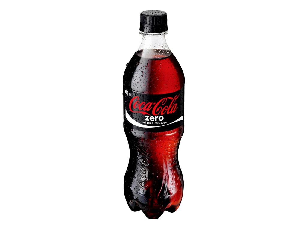 coke zero bottle 600ml