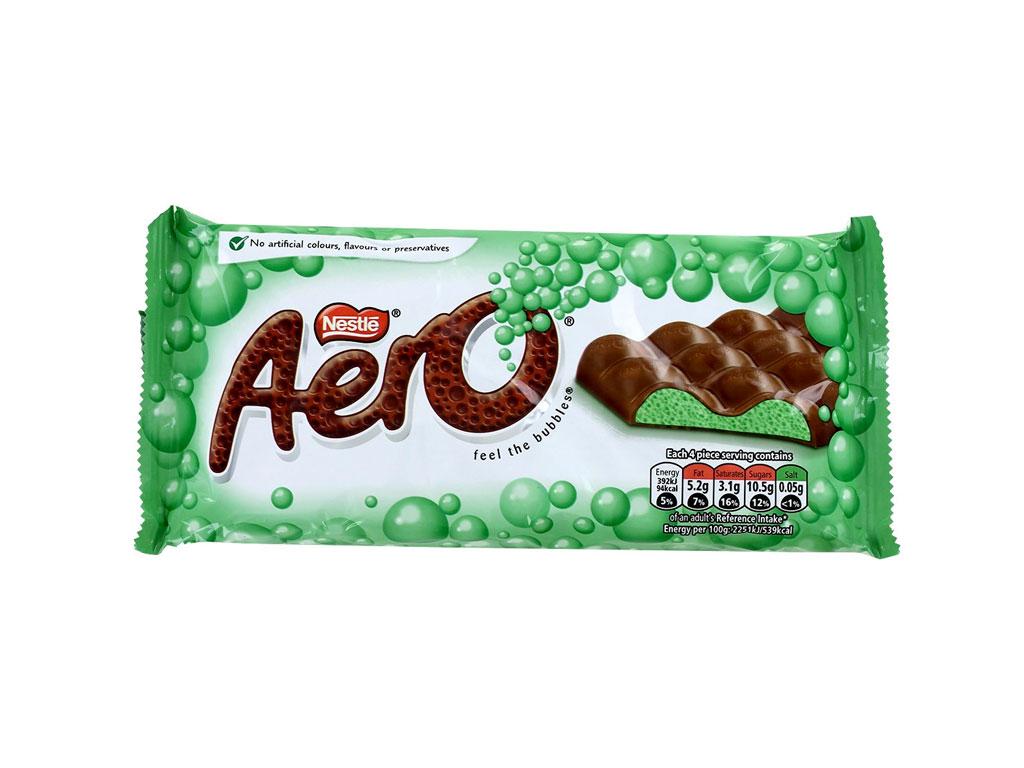 mint aero chocolate