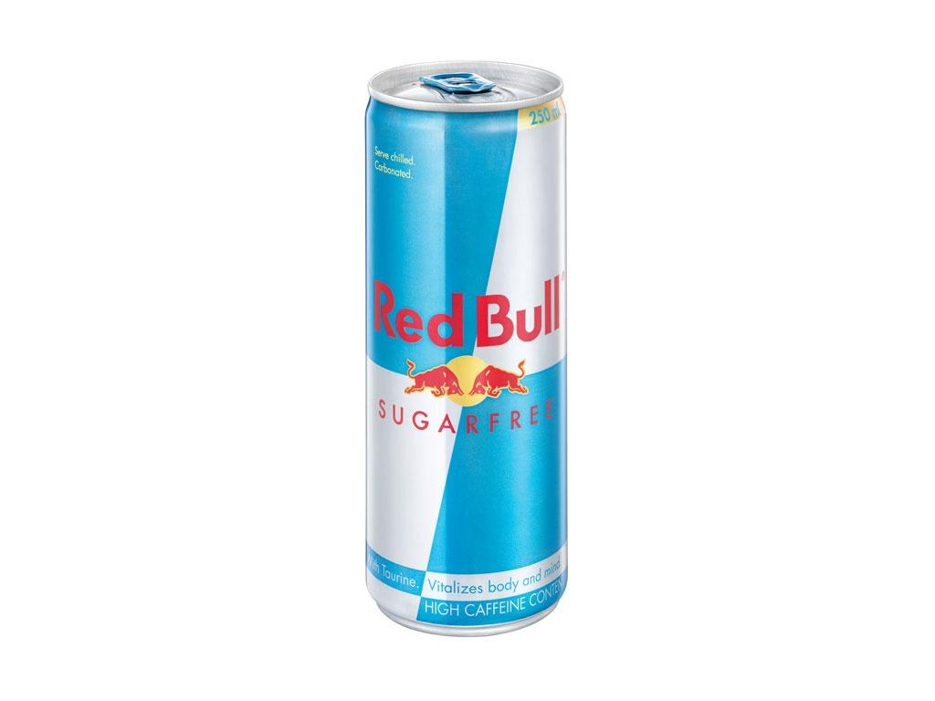 redbull sugarfree can 250ml