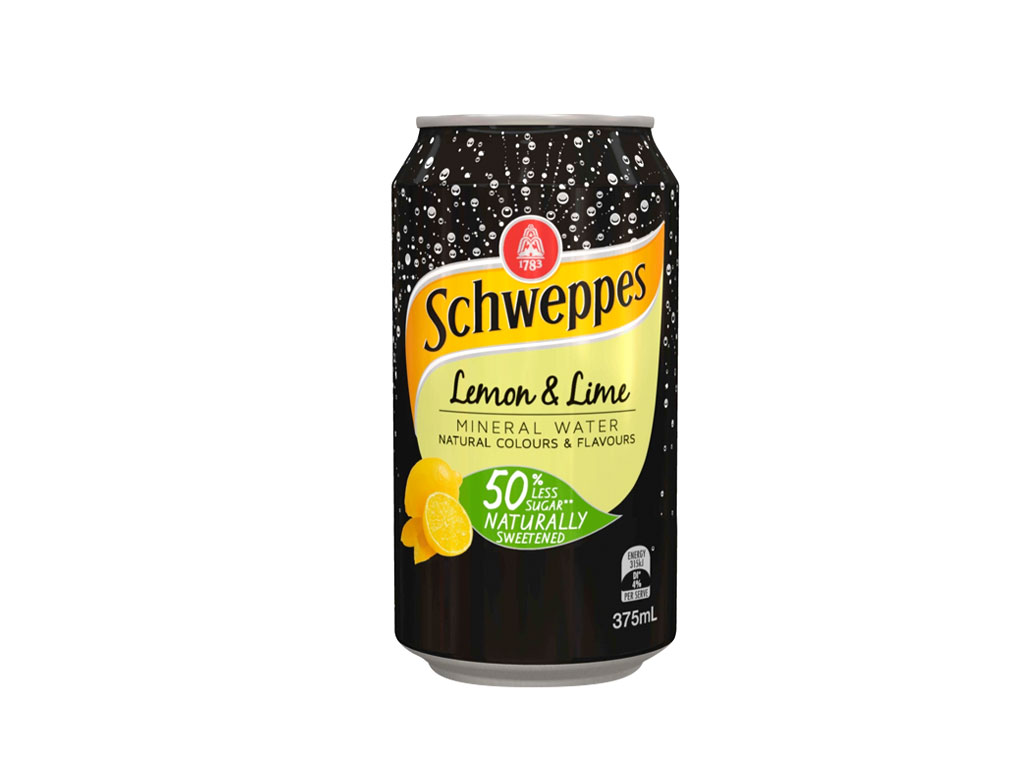 schweppes lemon lime