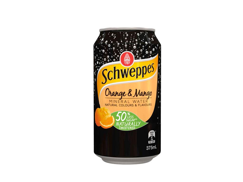 schweppes orange mango