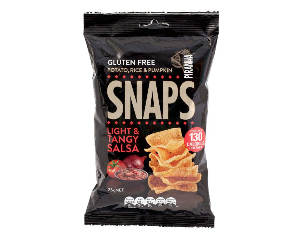 snaps light tangy salsa gluten free