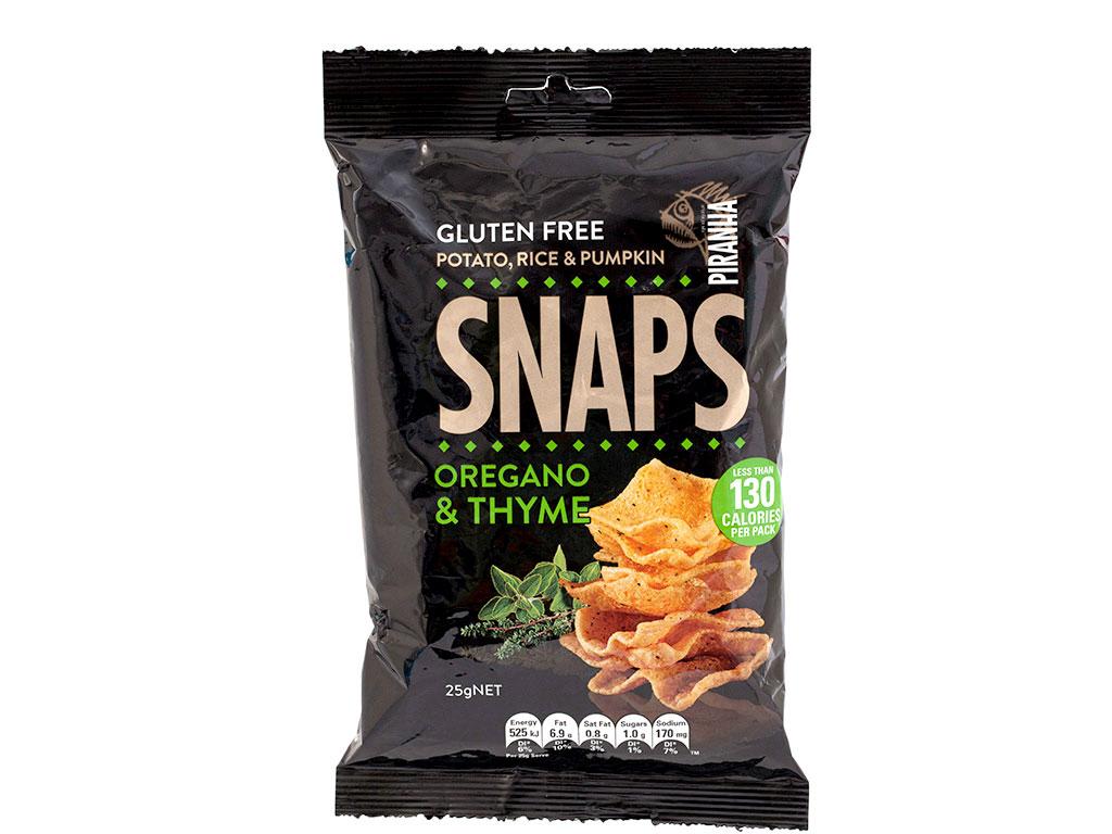 snaps oregano thyme gluten free