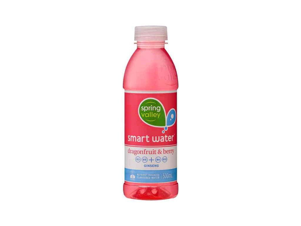 spring valley smart water dragonfruit bottle 500ml